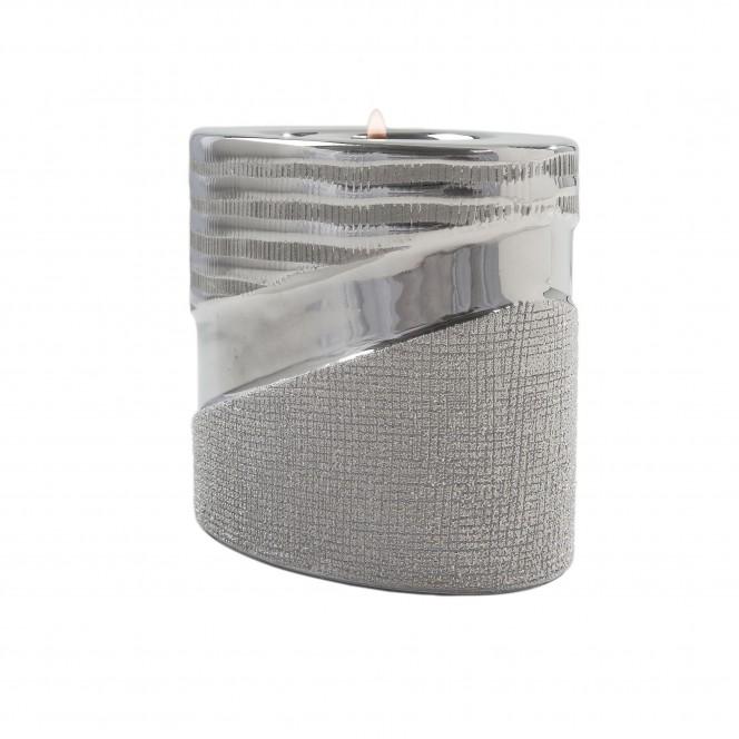 Hainan-Teelichthalter-Silber-7x10x8,8-per2