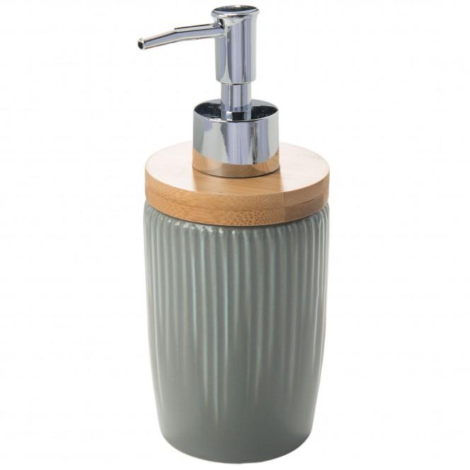 BathroomFlyn-Seifenspender-Dunkelgrau-7x7x18-per