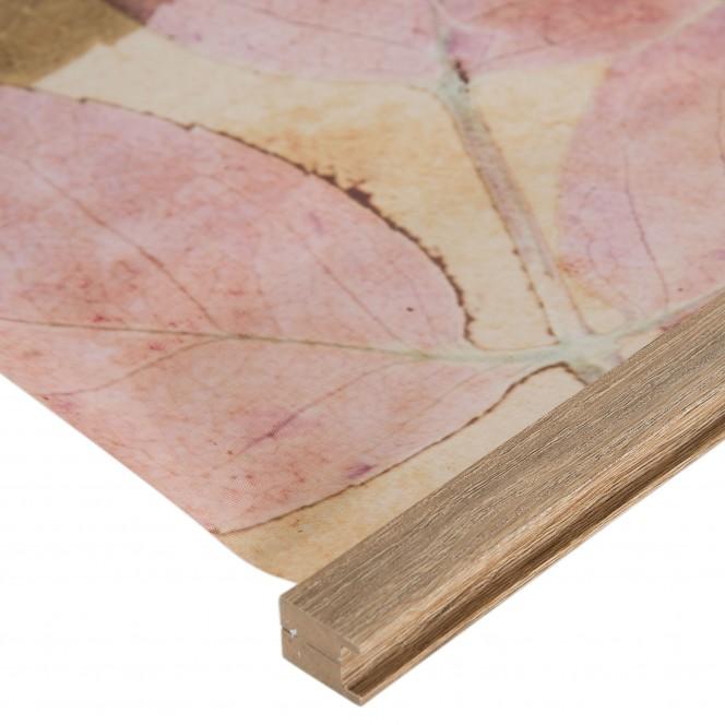 Blaettersicht-Leinwandbild-rosa-GruenRosa-60x90-lup2