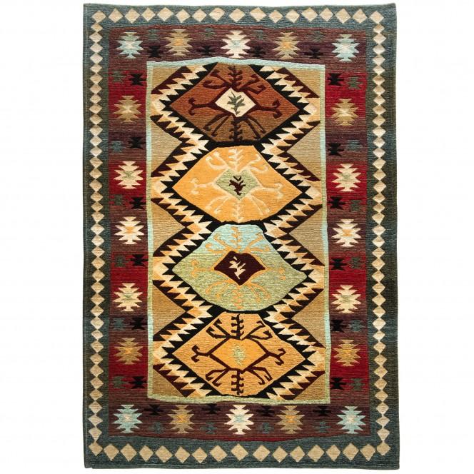 Loma-Designerteppich-mehrfarbig-Multicolor-160x235-pla