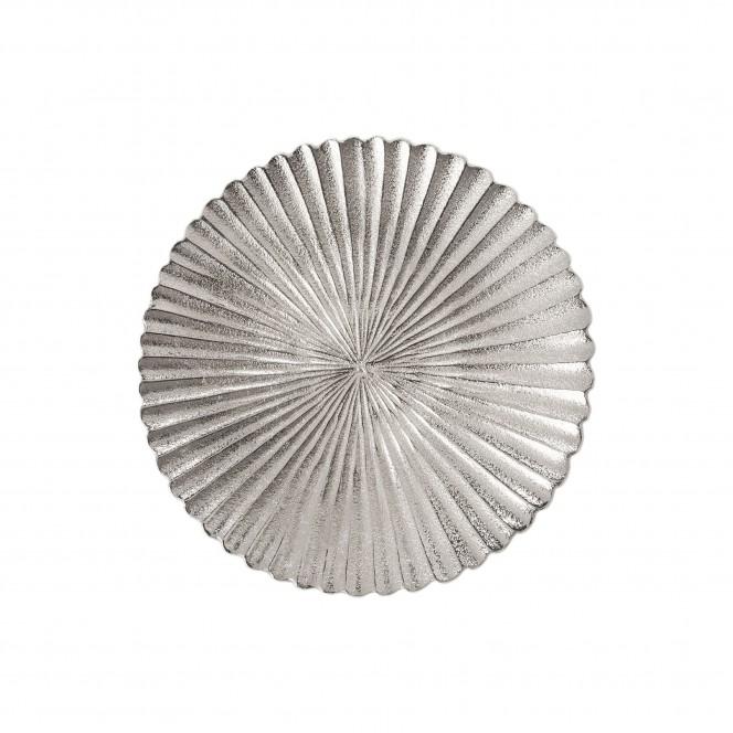Shallow-Schale-Silber-30x30x6-pla