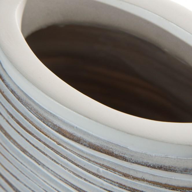 Jialing-DekoVase-Grau-10x22x45-lup1