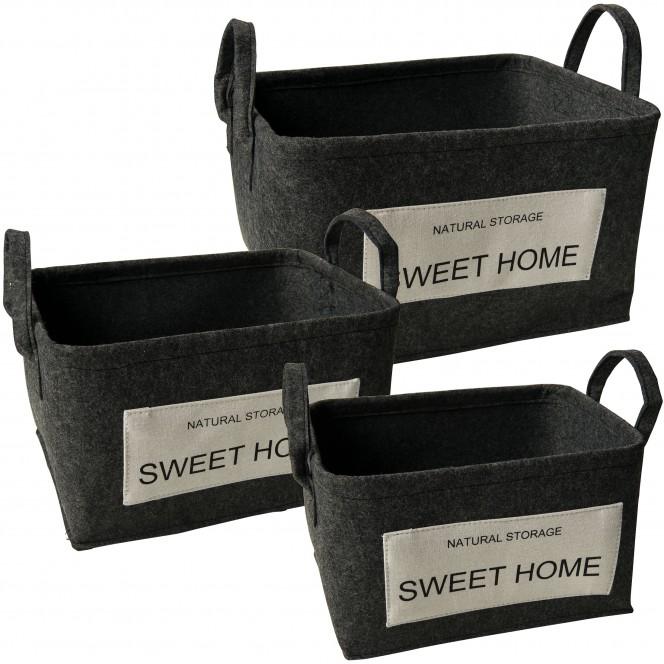 SweetHome-Korb-Dunkelgrau-Set-per2