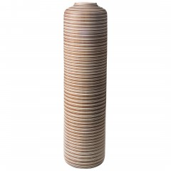 Kaili-DekoVase-Braun-20x20x75,5-per