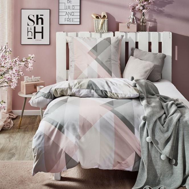 PastelDiamonds-Bettwaesche-mehrfarbig-Rose-135x200-mil