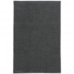 SantaCruz-Badteppich-grau-Graphit-50x80-pla