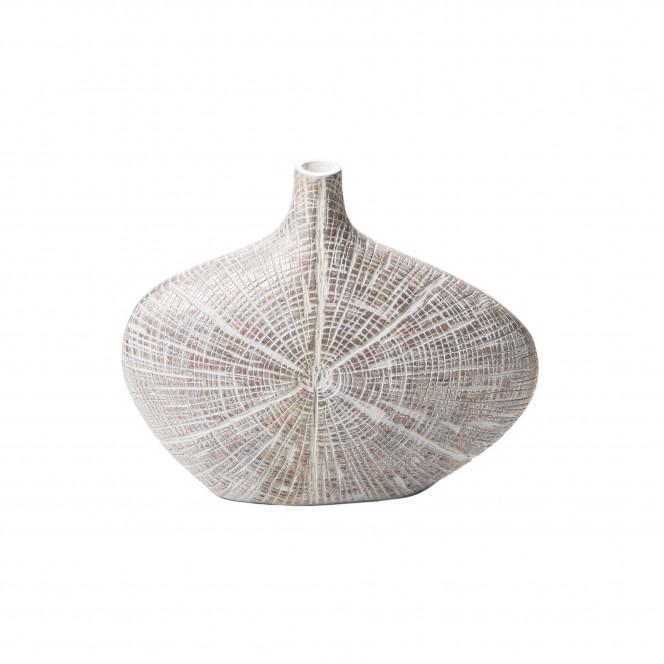Spinnennetz-Vase-Weiss-10x27x23-per