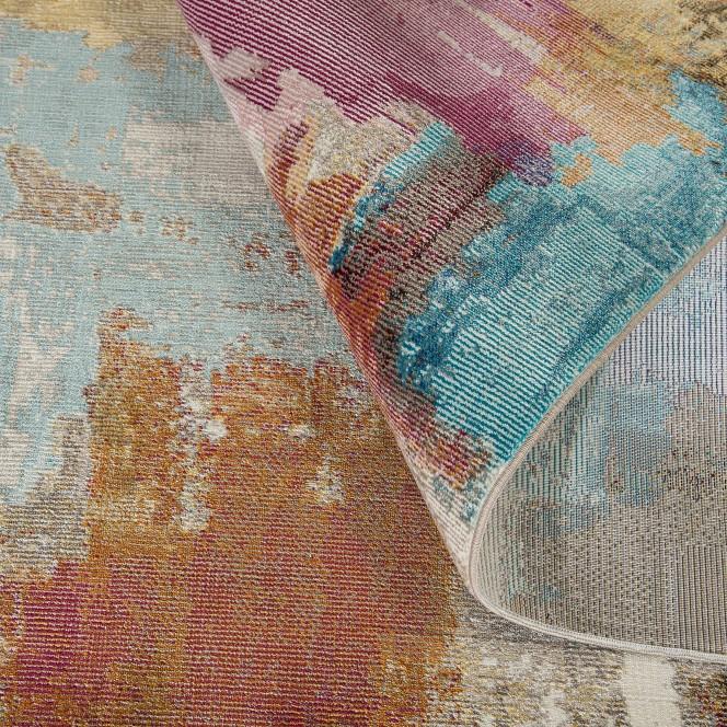 Azure-DesignerTeppich-mehrfarbig-Multicolor-wel